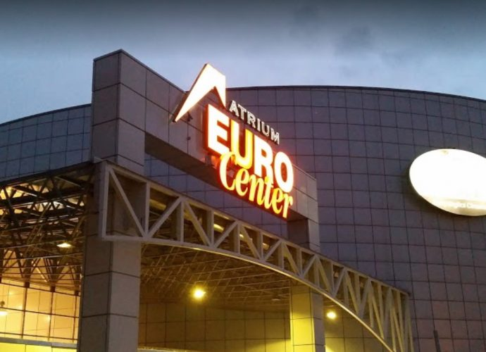 Eurocenter bejárat