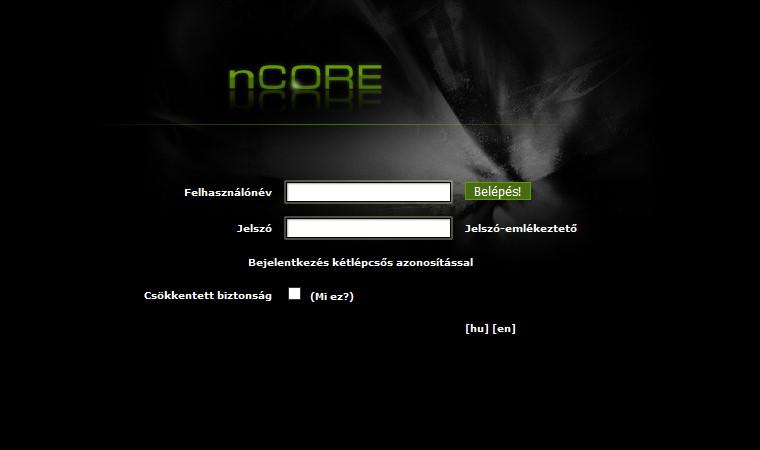ncore a magyar torrent oldalak legnagyobbika