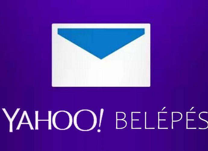 yahoo mail belépés